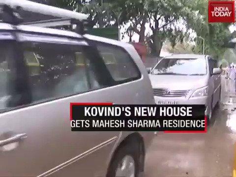 Ram Nath Kovind gets new bungalow on Akbar road #ITVideo More videos: https://t.co/NounxnP7mg