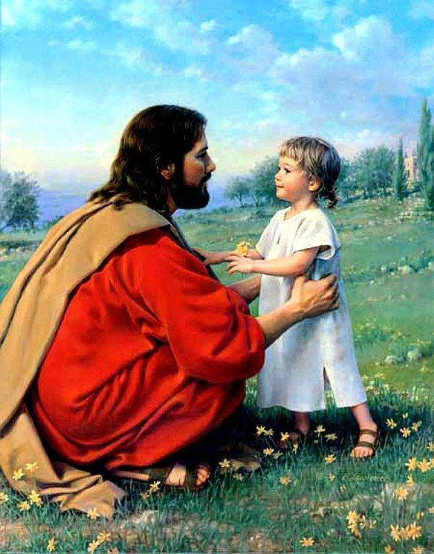 бог картинки с детьми для