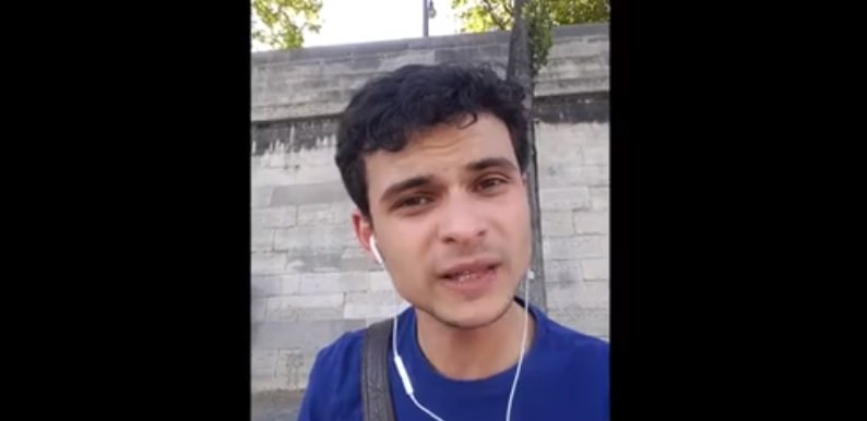 Jovem cearense viraliza ao falar sobre Paris; Confira https://t.co/rq24eG0drN