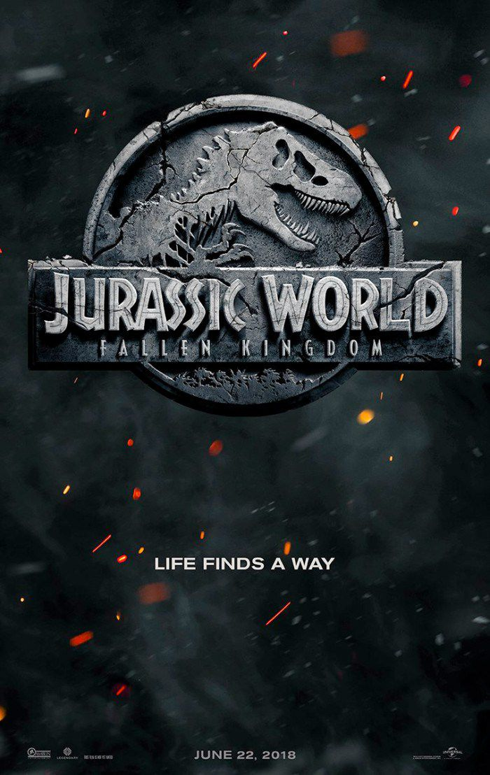 The Jurassic World: Fallen Kingdom poster is just a single nostalgic c...