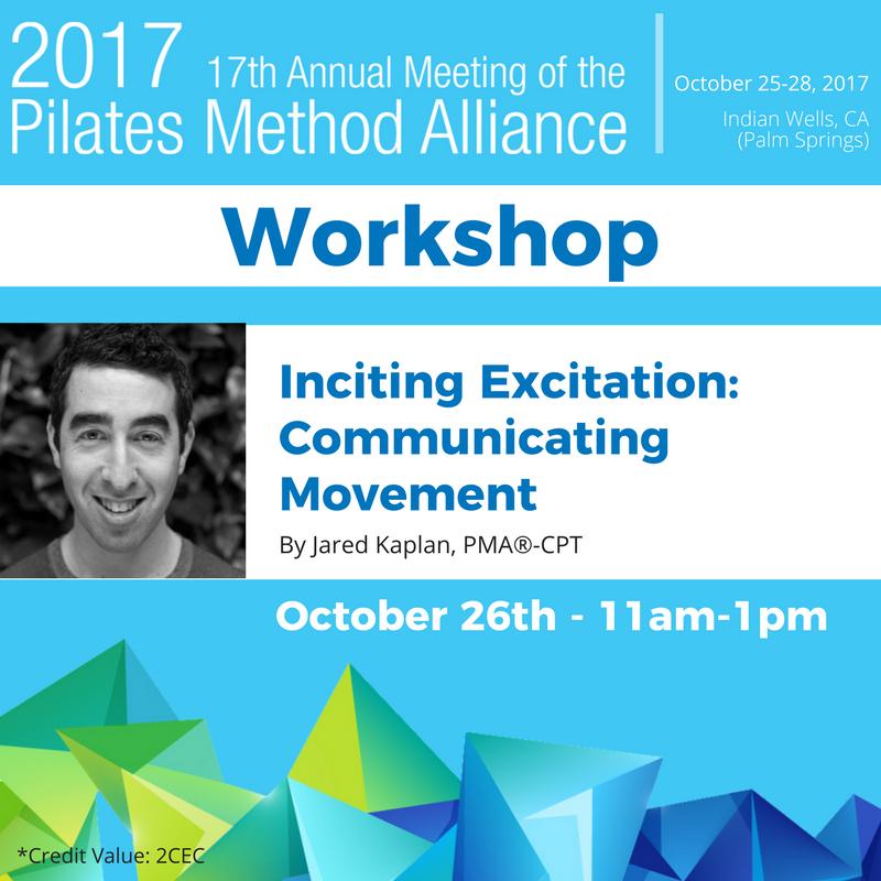 #pma2017conference Workshop by Jared Kaplan