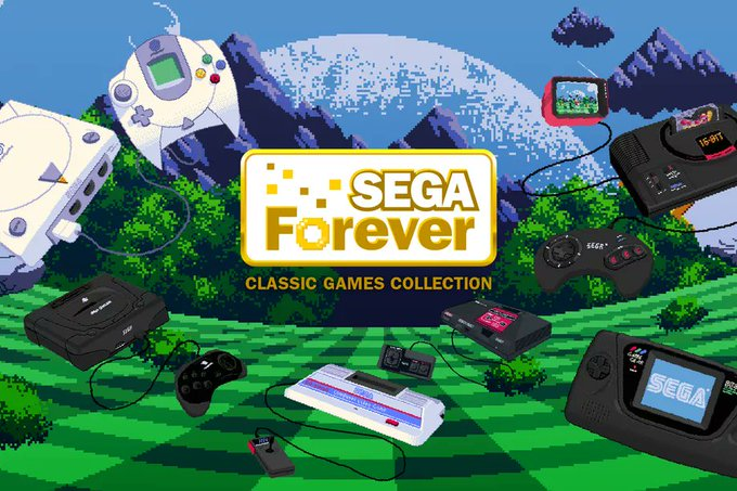 Sega's free retro game collection is now available to download on iPhone and Android https://t.co/0Es37fems4
