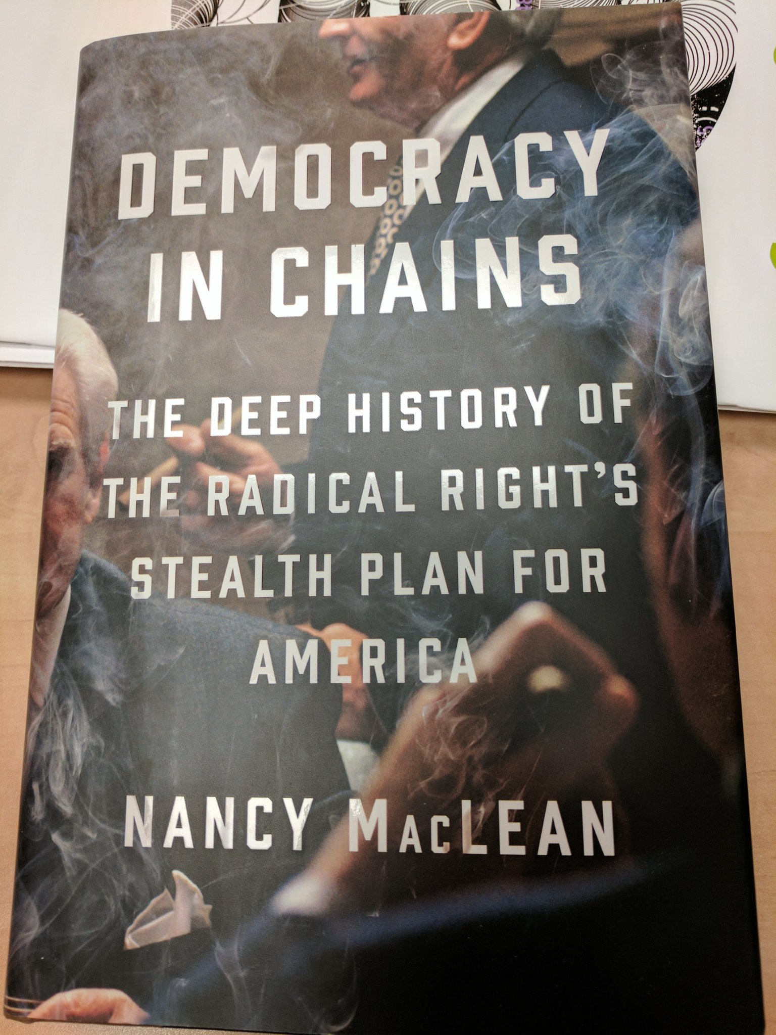 Reading this thoroughly-researched, passionately-argued, and scary as shit book. Anyone who cares about our society should, too. Then fight. https://t.co/ZhTXxvwfQB