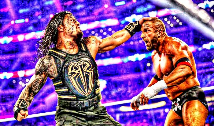 @WWERomanReigns vs @TripleH at #Roman Prove in #WrestleMania he is Belong in @Wwe And He Is #TheGuy #TheBigDog @Roman_Empire_76pic.twitter.com/uUEuTTrKH2