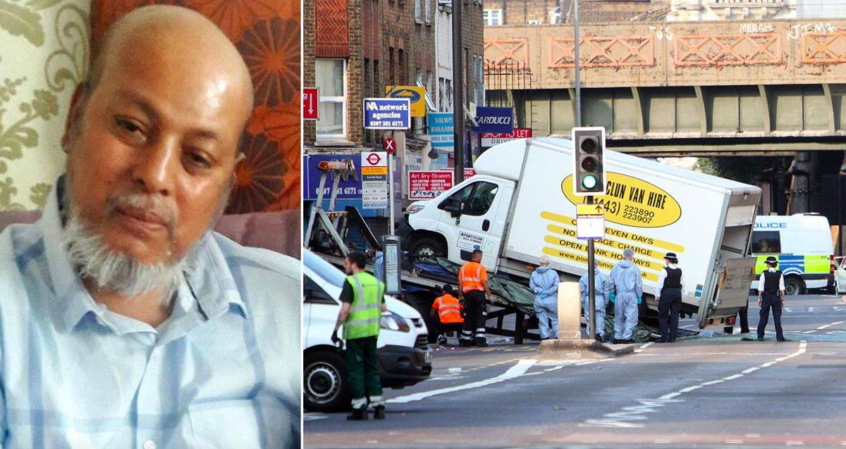 Finsbury Park victim identified as 51-year-old 'peace-loving' granddad https://t.co/NcW4tudlJq