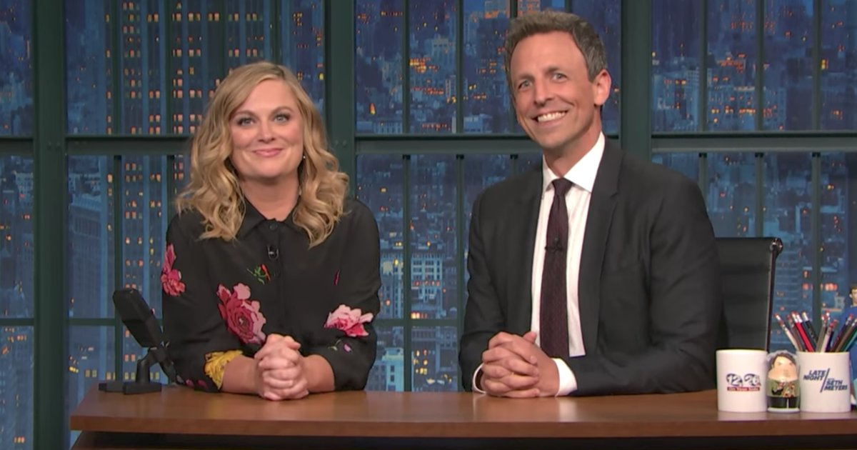 See Amy Poehler and Seth Meyers take on pro-Trump activists on #LNSM https://t.co/BDxy5bADYg