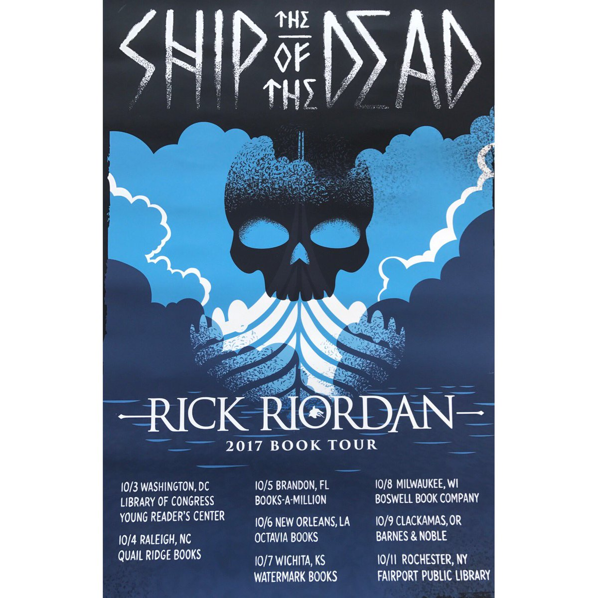 rick riordan Riordan was born and raised in san antonio, texas he graduated from alamo heights high school, and first attended the music program at north texas state, wanting to be a guitarist.