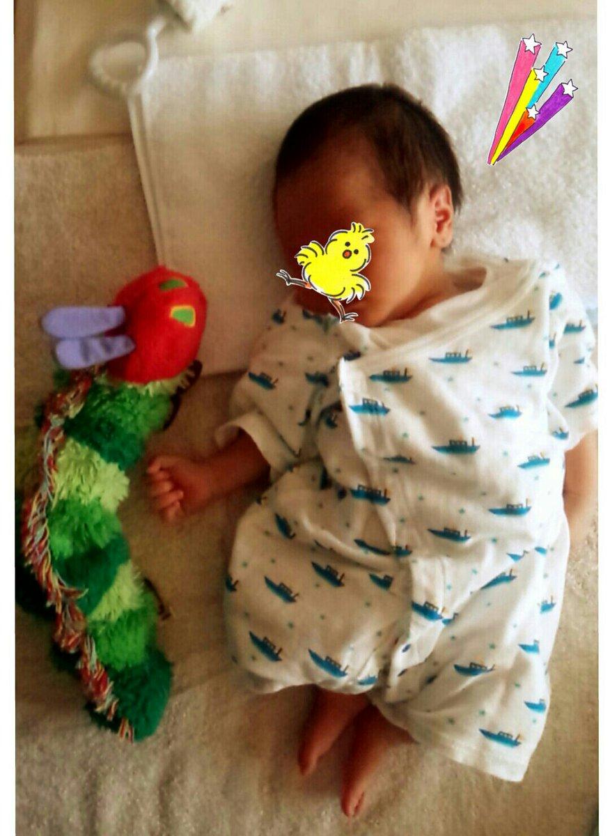 突然ですが先日男の子を出産し、三人家族になりました!!ヽ(^0^)ノ https://t.co/wWUJUXYvyP