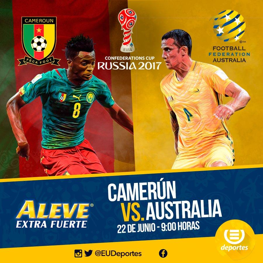 #CopaConfederaciones | ¡Transmisión del Mejor Equipo! Camerún vs Austr...