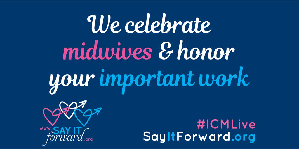 #MidwivesMatter! Love being at #ICM2017 w/ @SayItForwardNow to hear #MidwivesVoices & share their stories! #ICMLive https://t.co/AOqfN1PApb