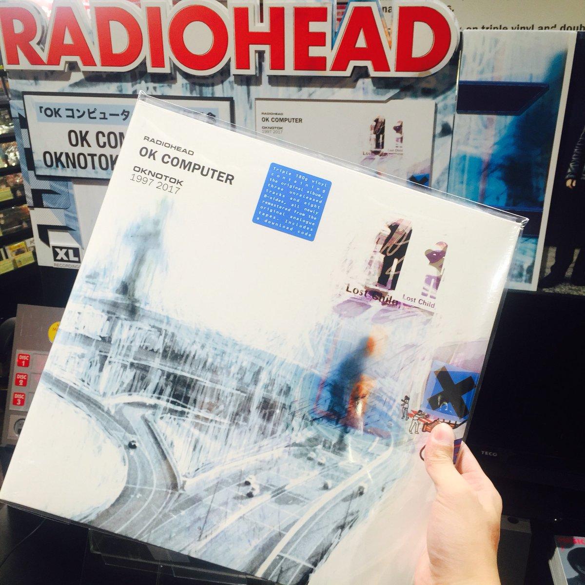 【RADIOHEAD】 世界最速販売会場では予約完売している限定ブルーヴァイナルを少量販売!!先着です! #Radiohead  (麺) h...