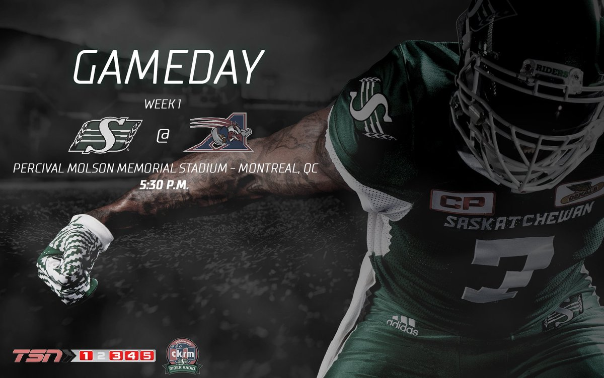 We're back. It's officially #CFLGameday.  ⏰ | 5:30 p.m. 📺 | @TSN_Sport...