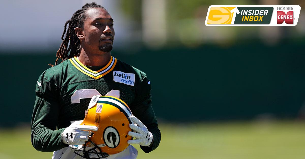 .@mikespofford discusses @DavonHouse, the #Packers offensive line, 3rd-down conversions + more.  Insider Inbox :  http:// pckrs.com/72kd  &nbsp;  <br>http://pic.twitter.com/SjgRdQs1yl