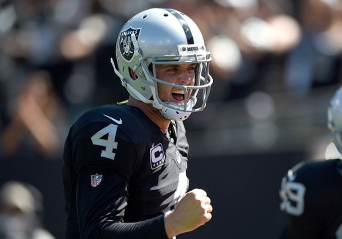 Breaking: Raiders make QB Derek Carr highest paid player in NFL history with 5-year/$125M extension, per @Rapsheet