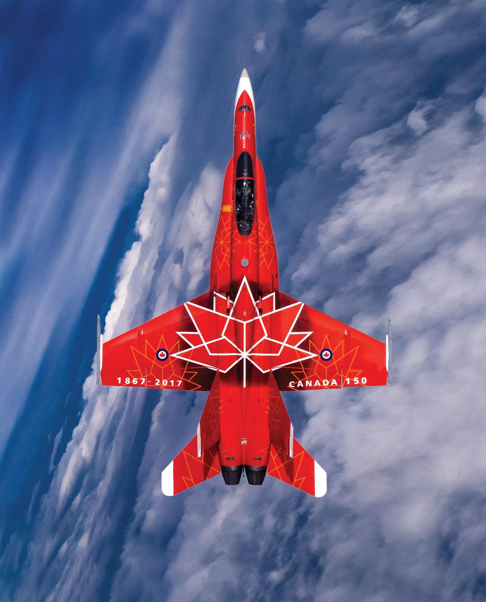 Look up #Montreal! Our #Canada150 jet will flypast the @MTLAlouettes T...