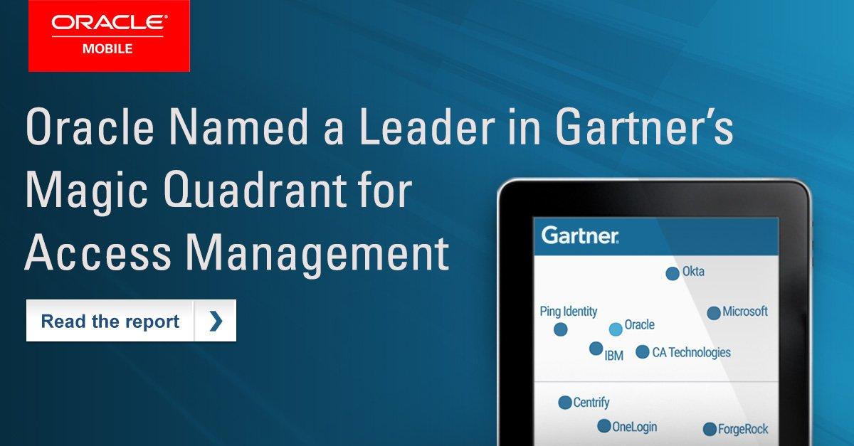 .@Gartner_inc  names @Oracle a Leader in the Gartner Magic Quadrant for #Access Management  http:// ora.cl/XN6ZX  &nbsp;  <br>http://pic.twitter.com/fbD7h842Nx