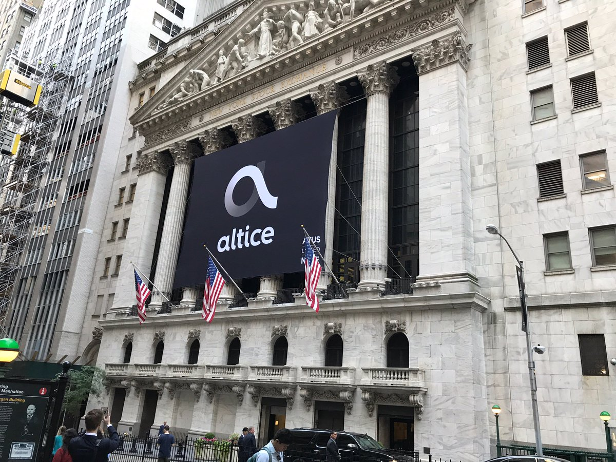 Altice Business Usa On Twitter Today Altice Usa Began Publicly