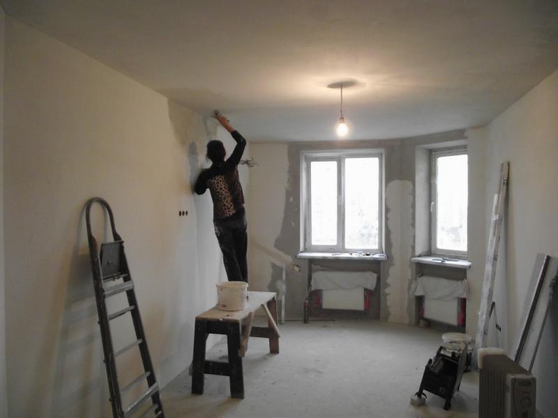 ремонт своими руками в квартире до и после