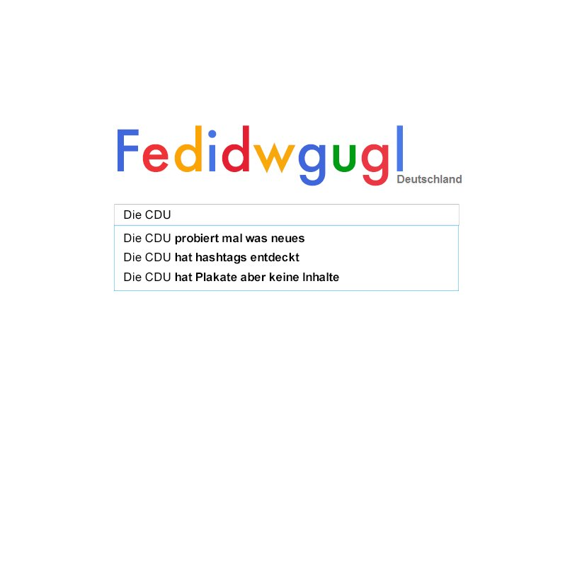 Unsere erste Assoziation bei #fedidwgugl 🤓😂 https://t.co/jCCCGBI9hW