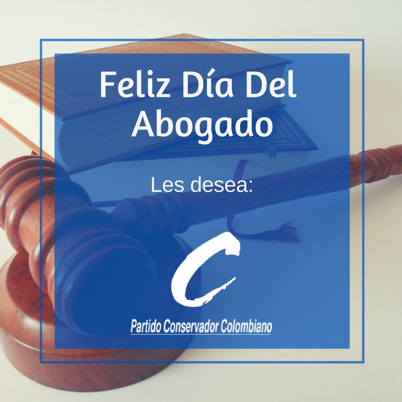 El @soyconservador felicita a todos los abogados en su día. #FelizDiaD...