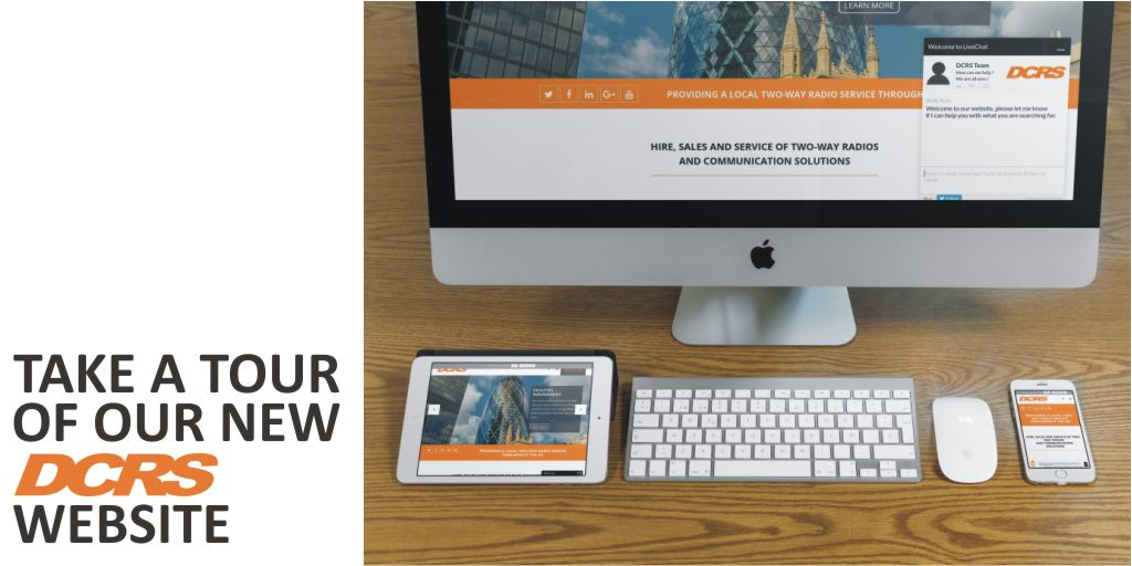 Have you seen our new website? We would love to know what you think  #dcrs #twowayradio #heretosupportyou