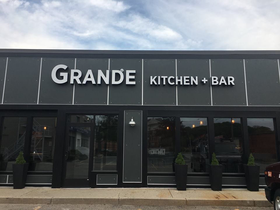 Grande Kitchen + Bar Is Now Serving Seafood, Burgers, Cheese, And More In # Newton ...