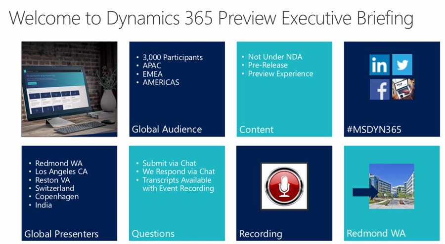 Thumbnail for Microsoft Dynamics 365 July 2017 Release Preview, Part 3