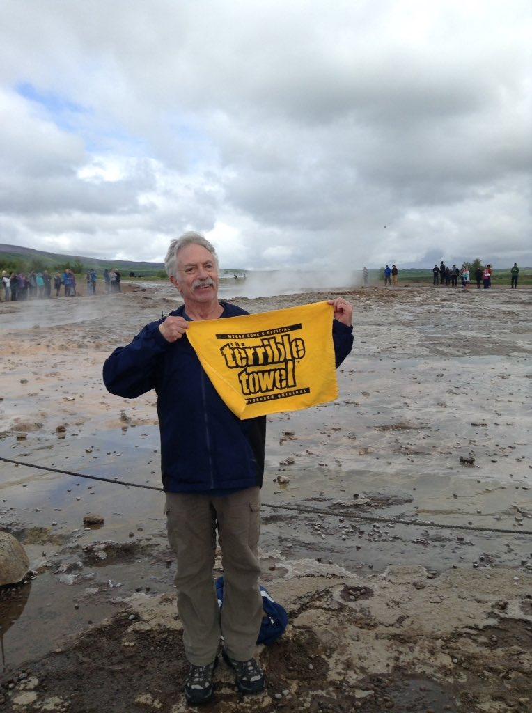 @steelers #HereWeGo from Iceland&#39;s Geysir, the original geyser. @JimTrotter_NFL @sdutCanepa<br>http://pic.twitter.com/WAzb6PdsDB