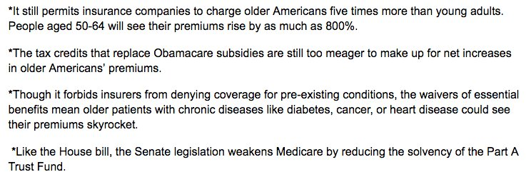 This is why the Senate healthcare bill is so hazardous for older Americans in several other ways: https://t.co/fUtH4OouxV #HealthcareBill https://t.co/Ff497csZJD
