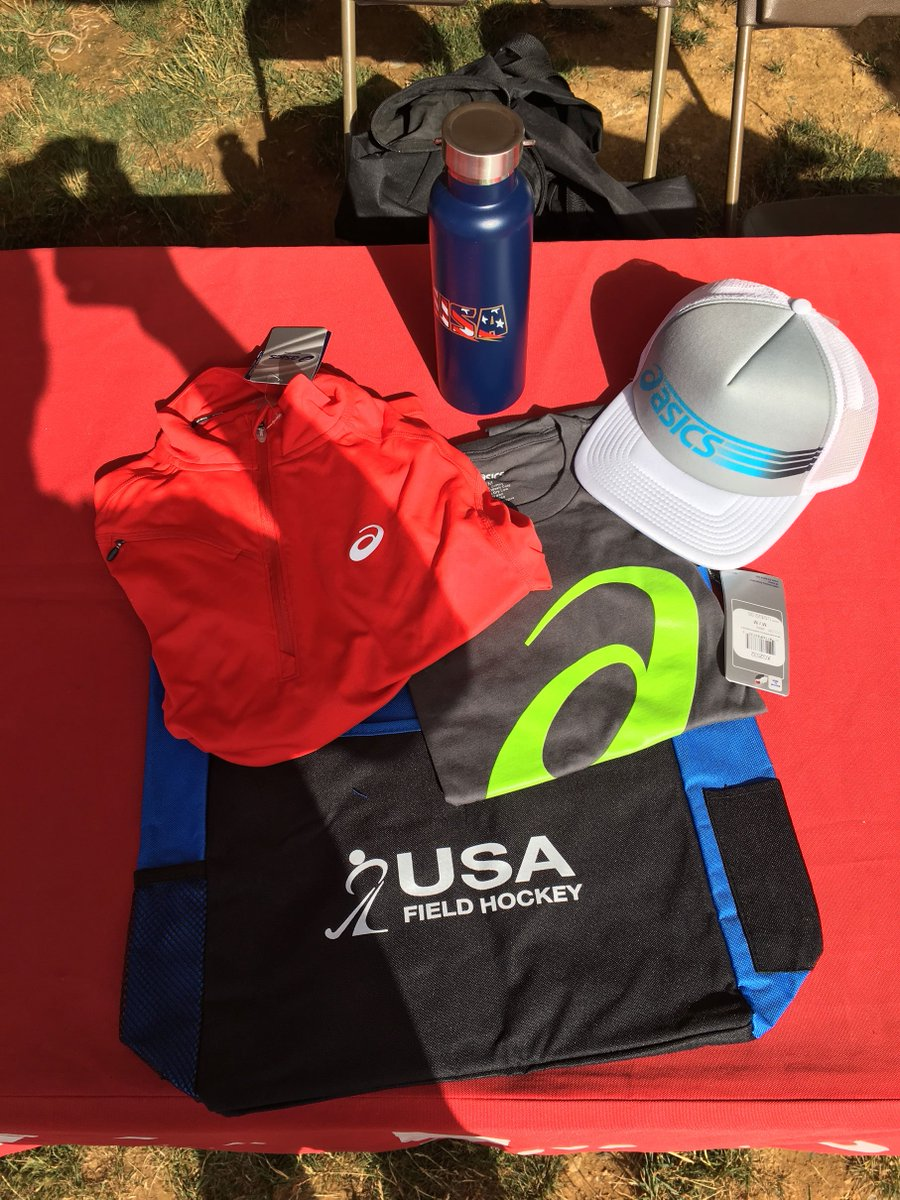 Stop by the USA Field Hockey Tent to find out how you can win some awesome prizes! #NFC2017