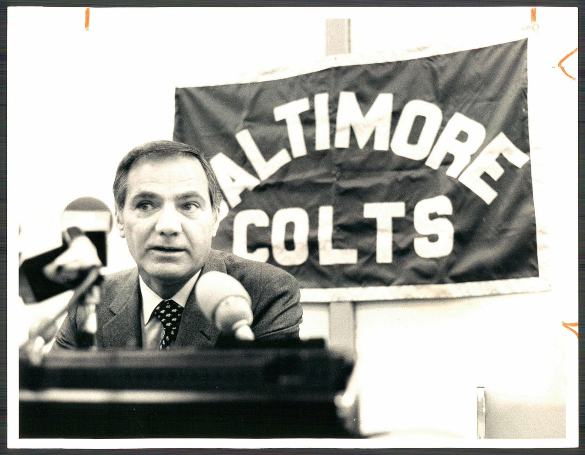 Frank Kushh, who coached the last Colts teams in Baltimore in 1982 and 1983, has died. He was 88. https://t.co/cpQnGrs8ua