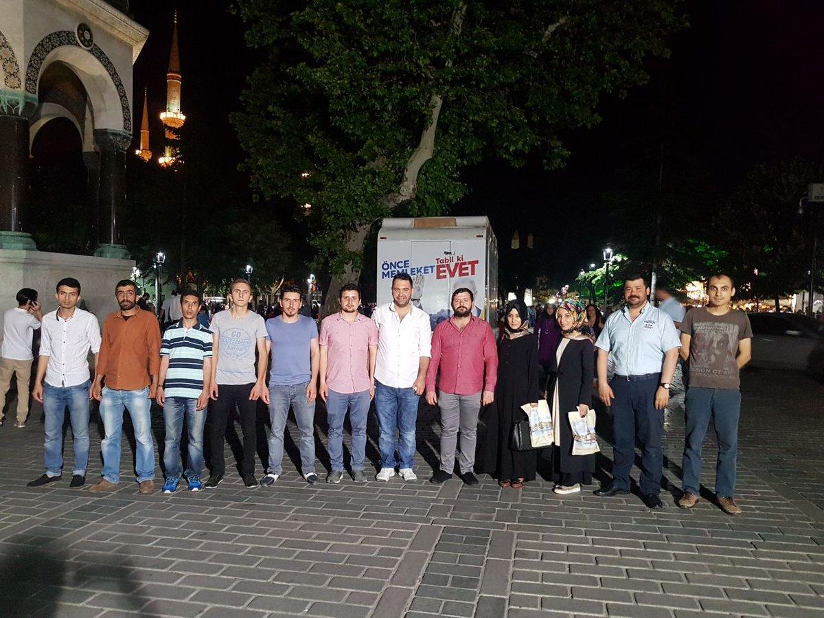 #AKGençFatih olarak Nişanca mahallemiz ile birlikte Sultanahmet Meydan...