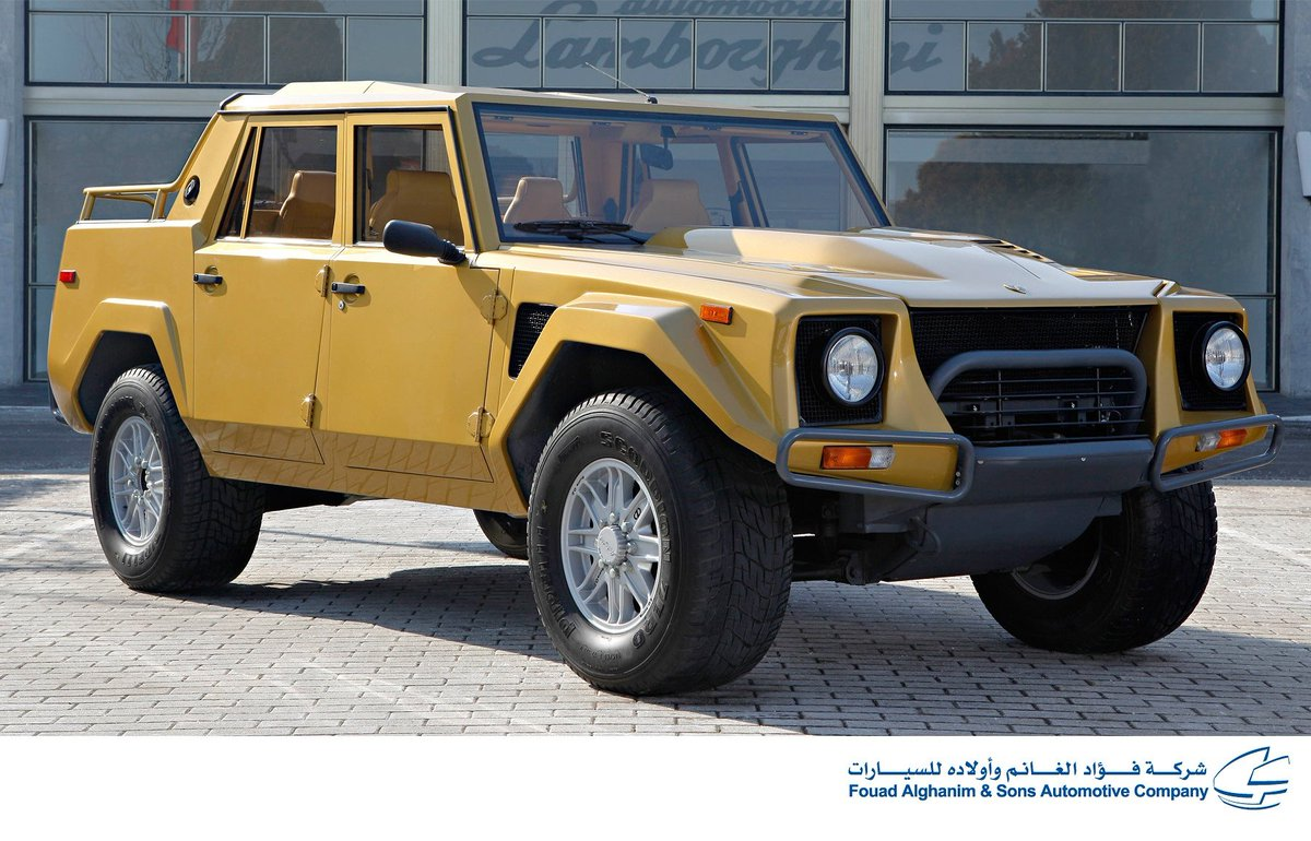 Lamborghini Kuwait On Twitter The Lamborghini Lm002 Was A