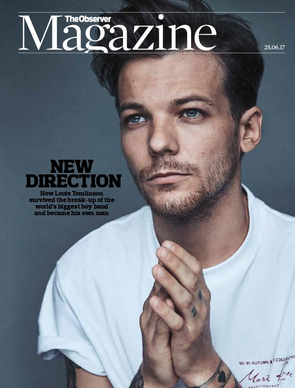 THIS SUNDAY: read our exclusive interview with @Louis_Tomlinson on life after @onedirection!