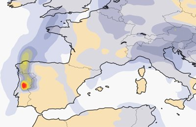 #Copernicus #Atmosphere Monitoring Service is monitoring the impact of #portugalfires on #airquality in Europe  http:// bit.ly/2ty3UnM  &nbsp;  <br>http://pic.twitter.com/fV2qh89dpW