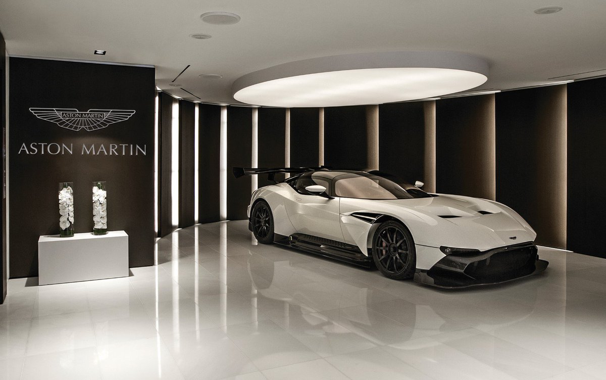 A spectacular Aston Martin Vulcan will also be on display in the sales centre! #AMresidencesMiami