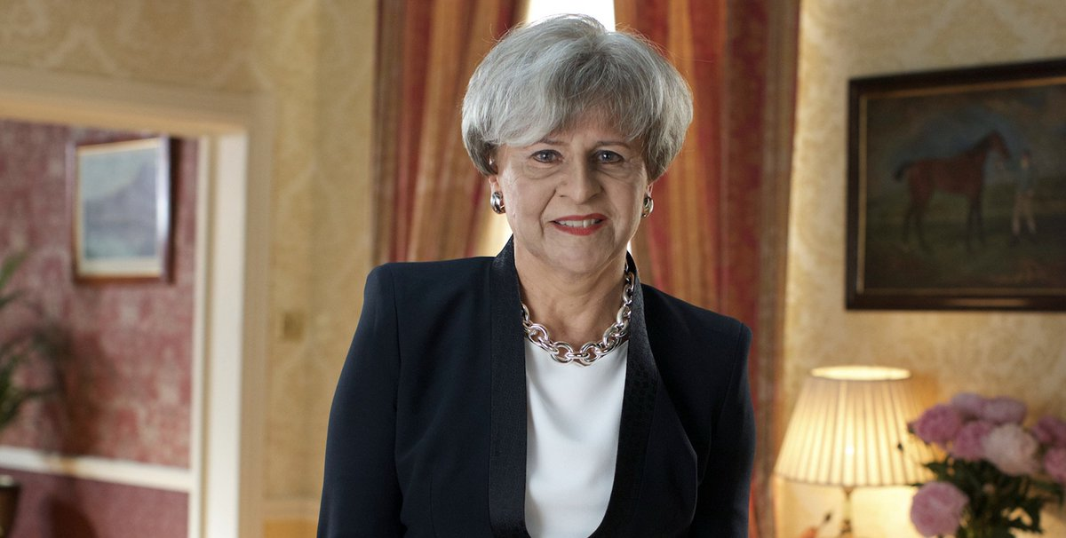 Tracey Ullman unveils her new Theresa May impression ahead of tonight's BBC show https://t.co/J0HACivliy