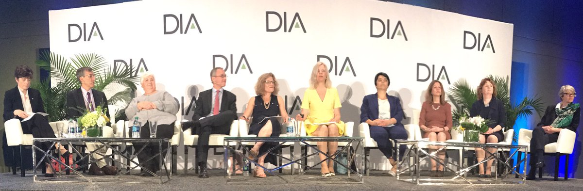 Round of applause for #FDA and #EMA on the Mutual Recognition Agreement during the @DrugInfoAssn #DIA2017 FDA/EMA Question Time<br>http://pic.twitter.com/PRx0YMlLcY