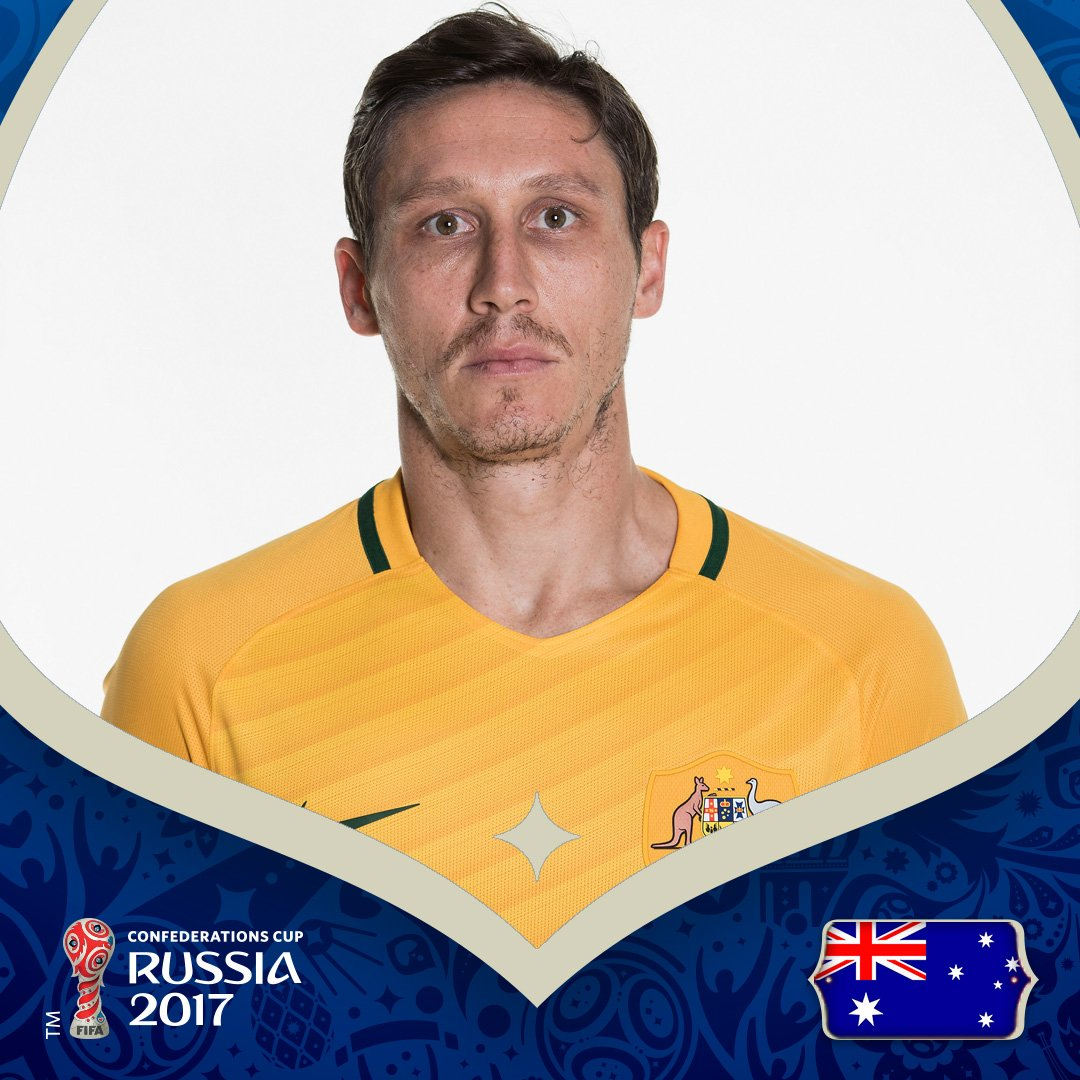 #ConfedCup | GOAL!  🇨🇲1-1🇦🇺 ⚽️ Mark Milligan from the penalty spot (60...