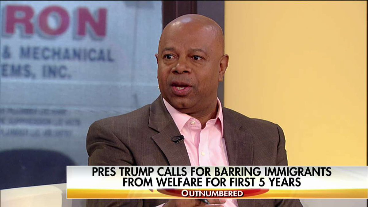 .@davidwebbshow: 'We should be means-testing our immigrants... We can't just import poverty.' #Outnumbered