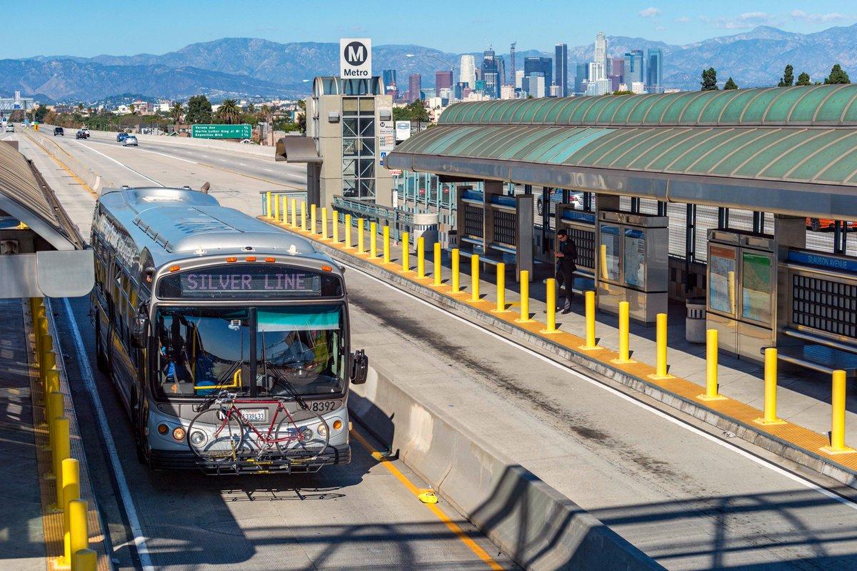 Good news, @MetroLosAngeles Silver & Orange Line riders! Starting...