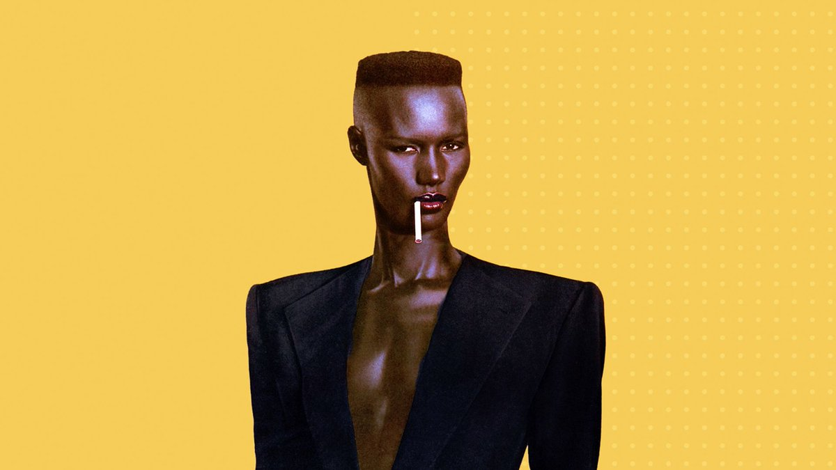 Inspirational, Invented the &quot;Magic&quot; of not giving a F*ck #Fashion #Grace M2M - Grace Jones  http:// buff.ly/2sYbGKq  &nbsp;  <br>http://pic.twitter.com/r3UPaurviq