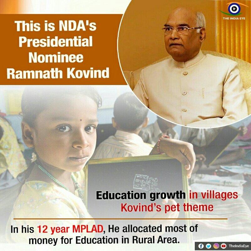 This is NDA's Presidential Nominee #RamNathKovind @BJP4India https://t...