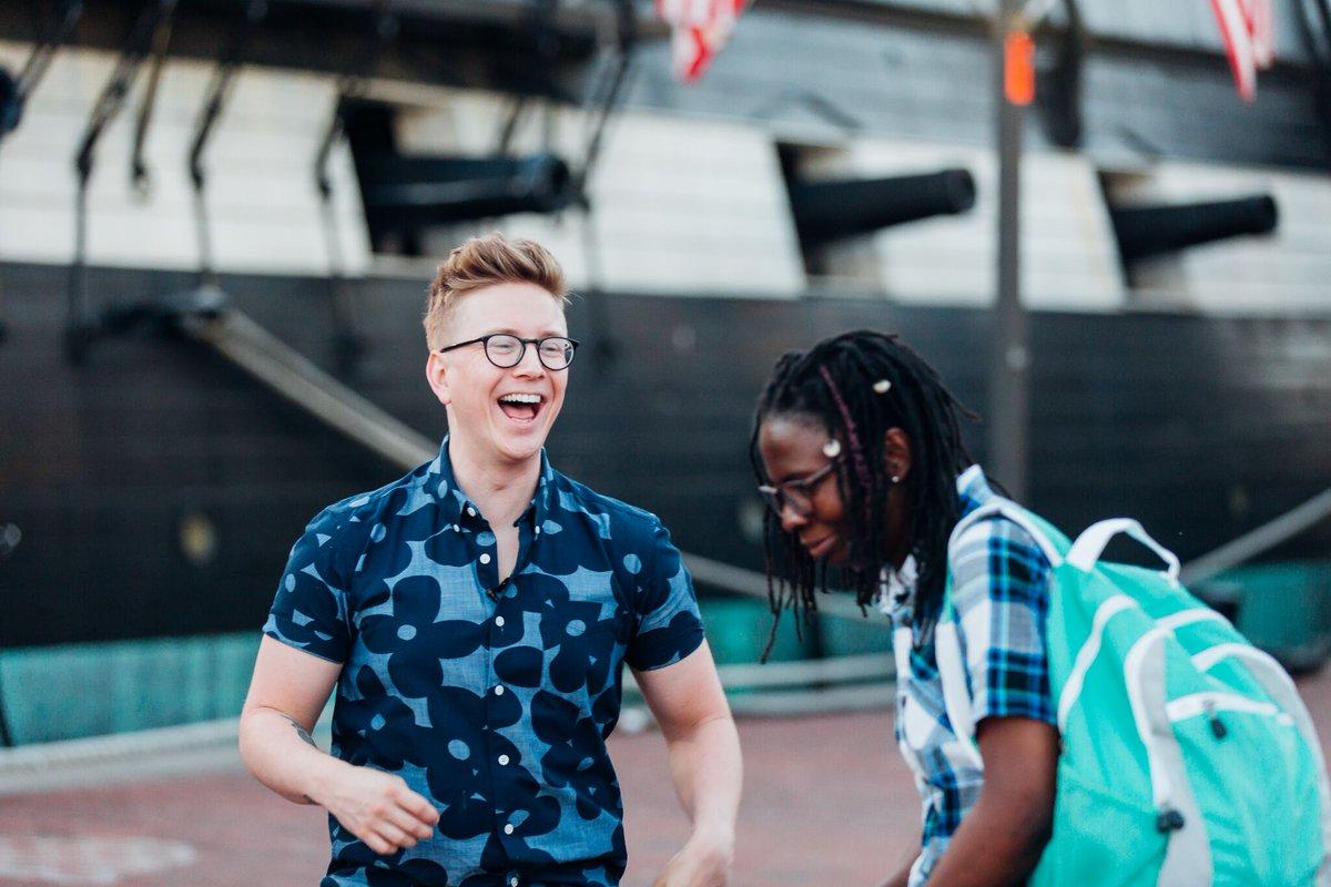 Tyler Oakley On Twitter Loved Meeting Sharifa A Ugandan Refugee