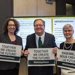 Merci à tous d'avoir participé à la discussion. Ensemble, nous créons le futur! #IFLAGlobalVision