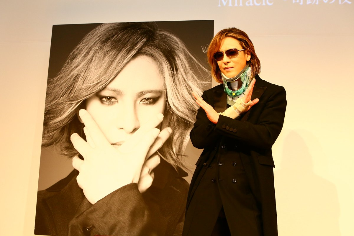.@YoshikiOfficial Makes First Public Appearance Since Surgery &quot;This was Hide and Taiji&#39;s dream...&quot; #XJapan #WeAreX  http://www. yoshiki.net  &nbsp;  <br>http://pic.twitter.com/JnKevdniDK