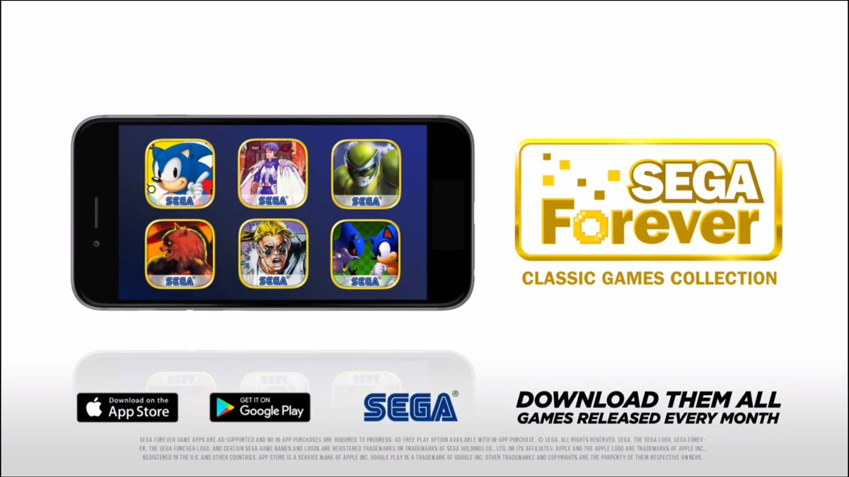 Who&#39;s excited for the #Sega Forever app?  All the classics for FREE on mobile devices   #RT for Sega passion<br>http://pic.twitter.com/fndQD8wS7v