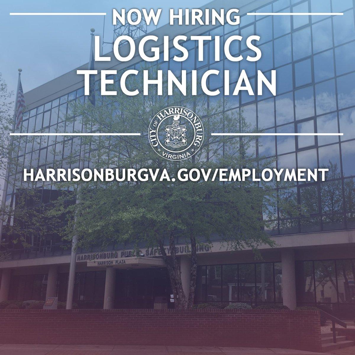Government Jobs GovernmentJobs – Logistics Technician