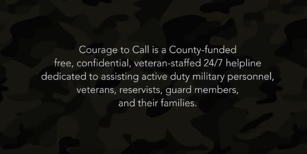 Learn about @CourageToCall, a free helpline dedicated to assisting military, veterans & their families. https://t.co/qFzJU4rGuV