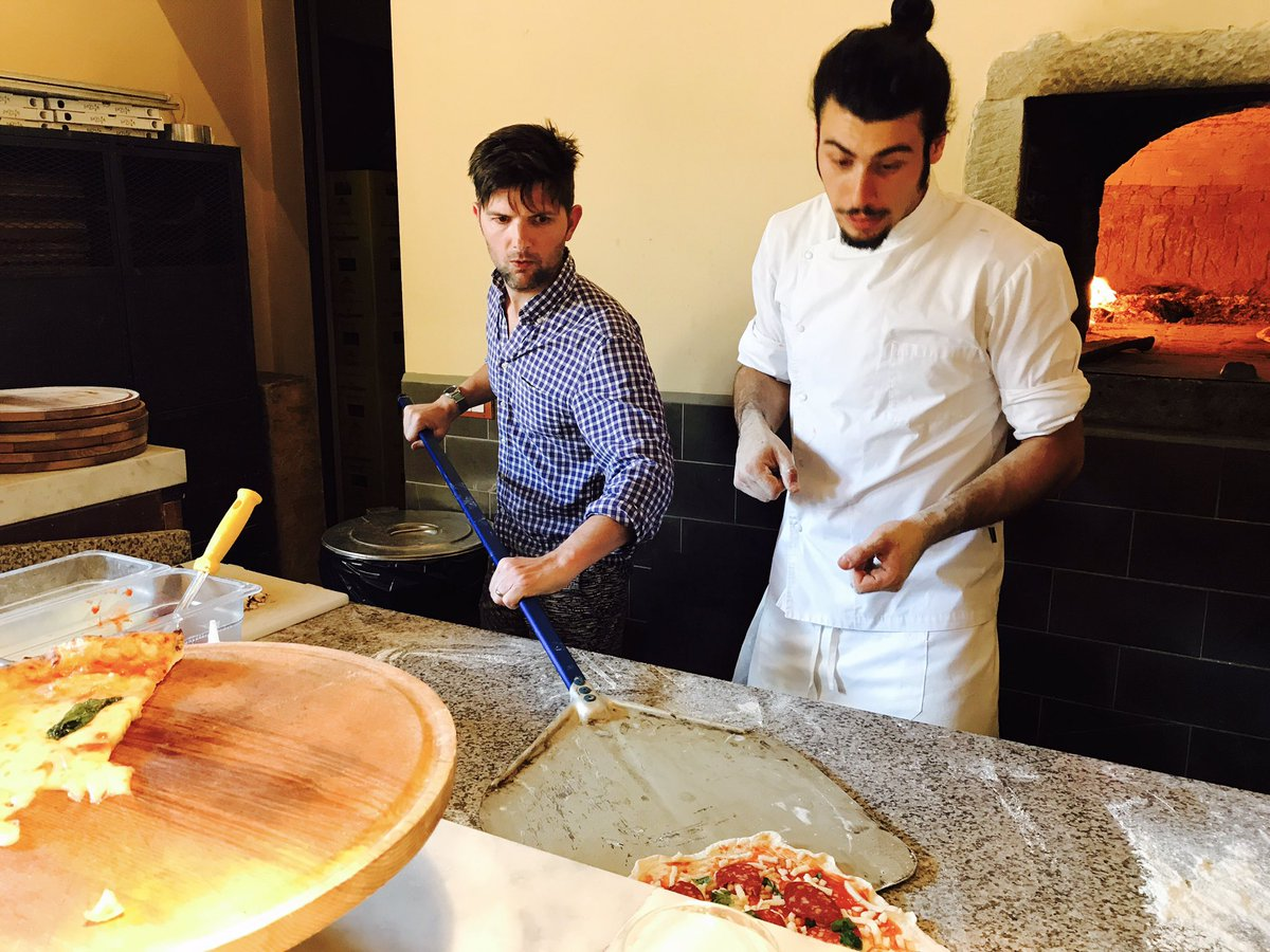 As fate would have it, my pizza-making class in Italy goes awry, so th...